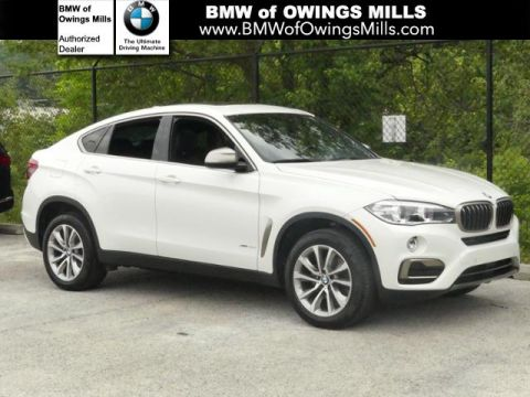 2017 BMW X6 xDrive35i Sports Activity Coupe